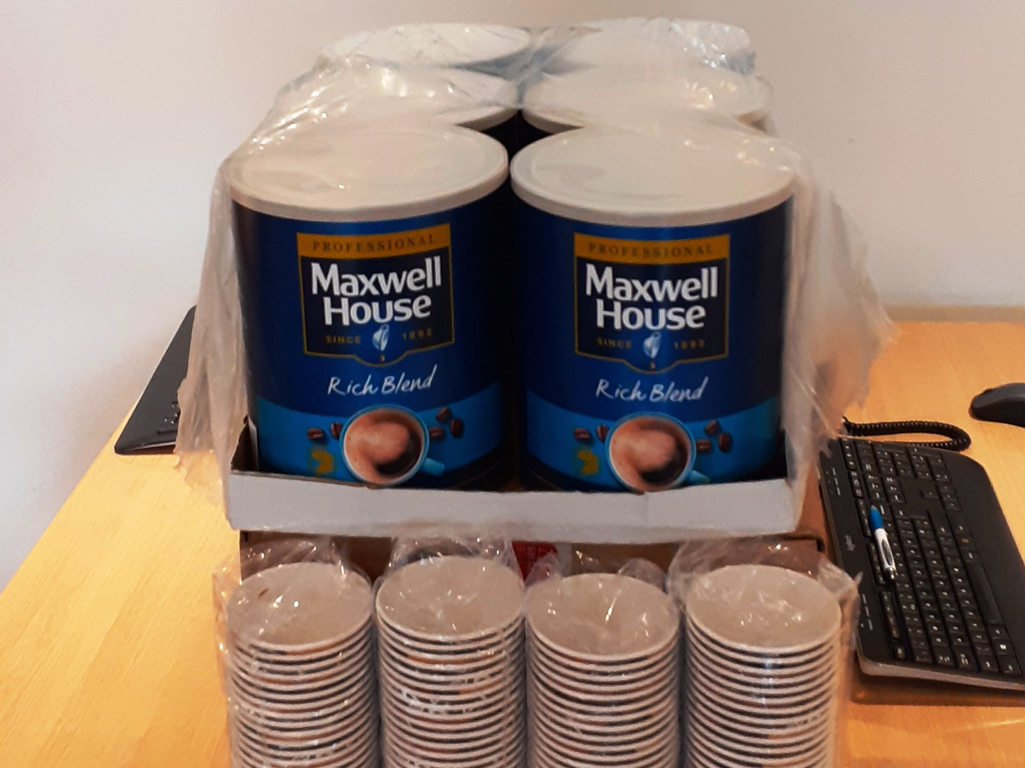 Martin & Co Poole donate coffee to local soup kitchen